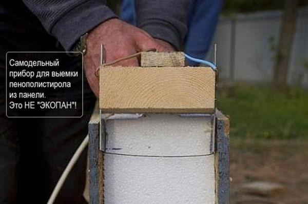 Пресс для сип панель своими руками
