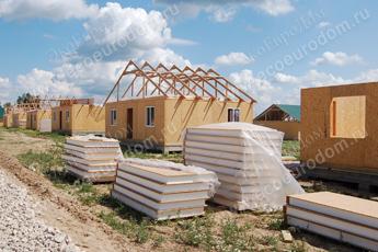 Цены на строительство домов по канадской технологии